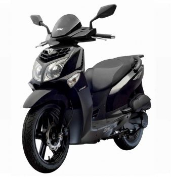 SYM HD2 200 ie front